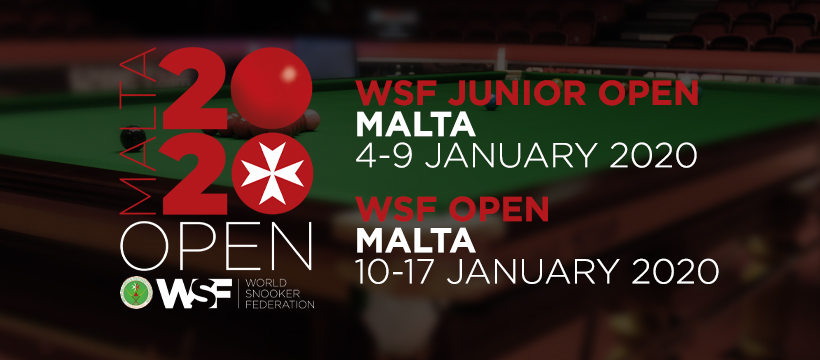 WSF Junior Open / WSF Open 2020 – Draws Released