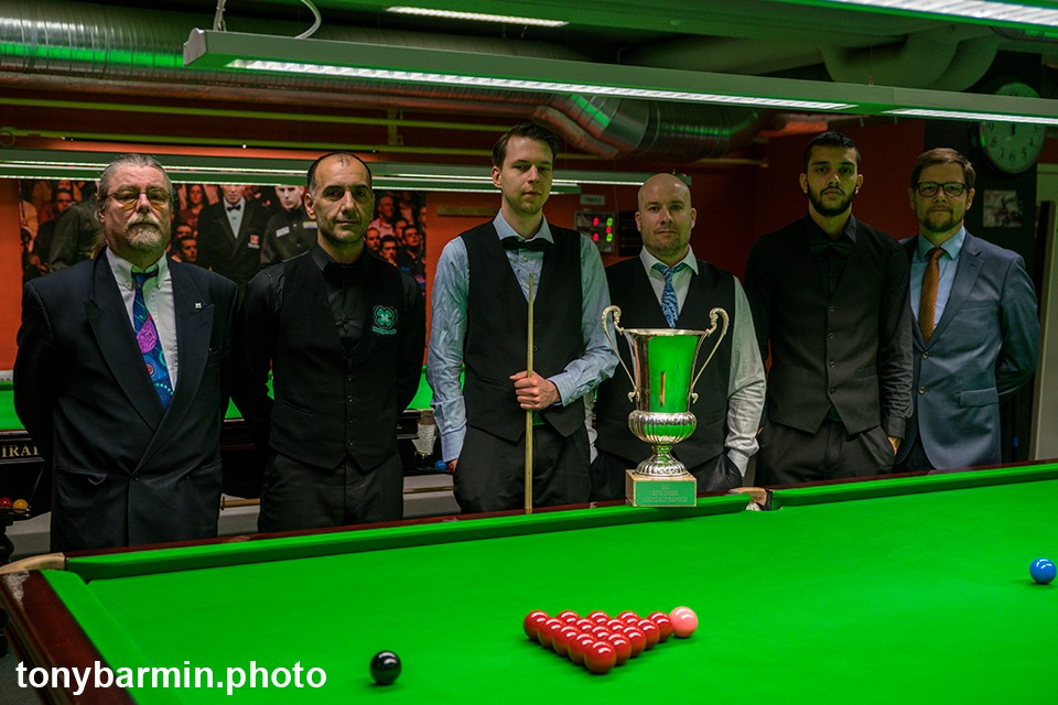 Lindblom's Swedish Snooker Success