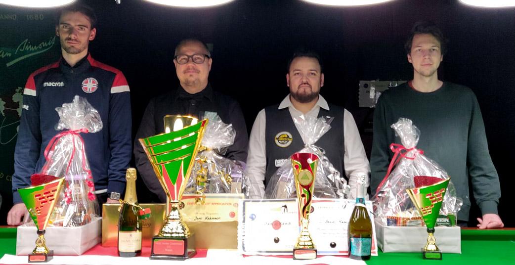 Kananen Wins Nordic Snooker Championship